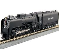 Kato 126-0402 N 4-8-4 FEF-3 Union Pacific Locomotive #838  Black Freight Version