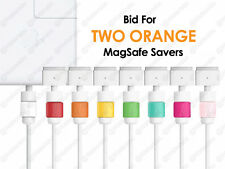 Two Orange Apple MacBook Pro Air Charger Cable Saver Protector for Charging Wire