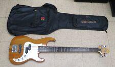 Corsair 4 string bass guitar. Greg Bennett Design with Gig bag
