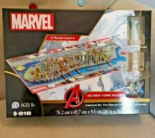Marvel: Avengers 4D New York City Jigsaw Puzzle CONSTRUCTION Game Endgame Lego