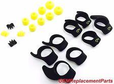Set OEM Ear Gels for Jabra Sport Pulse Bluetooth Stereo Headset Ear Buds Eargels