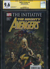 Mighty Avengers #6 CGC 9.6 SS Frank Cho THE INITIATIVE Ms. Marvel