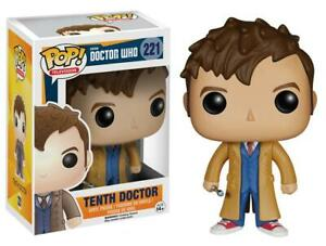 Funko Pop! Dr Who TENTH DOCTOR David Tennant #221 Vinyl Figure NEW & IN STOCK UK