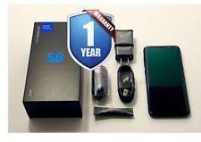 SAMSUNG GALAXY S8 SM-G950U1 64GB BLACK FACTORY UNLOCKED VERIZON AT&T T-MOBILE