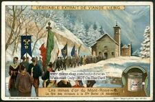 Patron Saint Of Mont Rose Gold Mine 1920s Trade Ad  Card