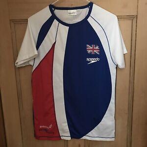 Speedo T- Shirt XS British Swimming Classic Style