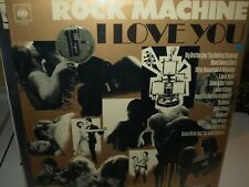 ROCK MACHINE - I LOVE YOU vinyl rock/pop compilation album