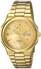 *Brand New* Seiko Men's Automatic Movement Gold Tone Steel Case Watch Snkk52