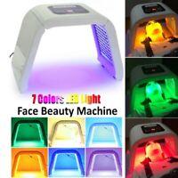 7 couleurs PDT LED lumière photon thérapie masque rajeunissement corps