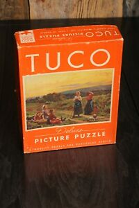 Vintage Tuco Deluxe Picture Puzzle Days Gone By 300 to 500 pieces