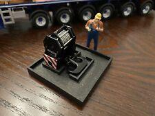 1/50 WSI Liebherr LTM 1750 9.1 Mobile Crane Hook Transportation Rack in Black