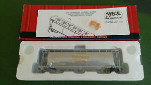 Atlas HO gauge 5-bay cylindrical hopper SP 491010, Southern Pacific Railroad