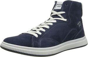 Diesel Men's SPRAWL Casual Athletic Blue Leather/Suede Shoes Sneakers US 8.5M