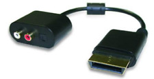 Mad Catz Xbox 360 HDMI and Analog AV Adapter for Headsets *New, Still Sealed*