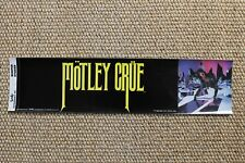 3 Motley Crue Bumper Stickers 1985 Sixx Theatre Of Pain Home Sweet Home The Dirt