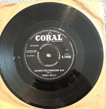 Buddy Holly Brown Eyed Handsome Man 45 rpm Vinyl Single
