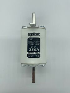 250A NH1 Fuse Cartridge (HRC) - Battery Protection, Off grid, Solar, Overload