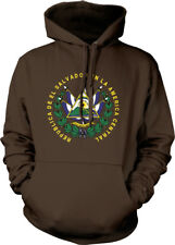 Republica De El Salvador America Central Dios Union Libertad Hoodie Sweatshirt