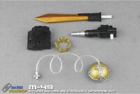 Matrix Workshop M-49 Upgrade Kit For SS86 Grimlock Weapon Helmet Crown Backpack