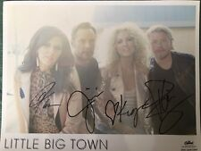 To Lori The Cheapest Price Little Big Town Autographed Signed Group Photograph Music Autographs-original