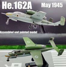 WW2 German Heinkel He 162-2 1/72 fighter plane 1945 aircraft diecast Easy model