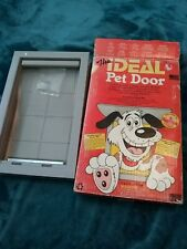 "The Ideal Pet Plastic Pet Door - Medium - (7""W x 11""H)"