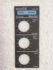 Baxter Bard Infus O.R. Smart Label, Fentanyl, Label: L04