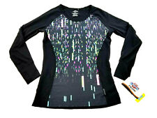 new Hot Chillys women shirt HC7432P black XS USA made MSRP $80
