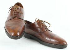 John Lobb Sz 9.5? Chestnut Medium Brown Smooth Leather F19 Oxford Shoes 850Z