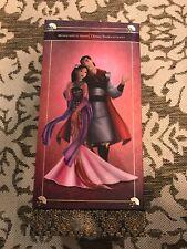 ***NEW Disney Store  Collection Princess MULAN Prince LI SHANG BARBIE DOLL***