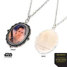 STAR Wars Episodio la forza si sveglia Rey in acciaio inox collana girocollo cameo