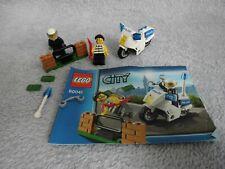 Lego City 60041 Polizei Motorrad Jagd, mit Bauanleitung