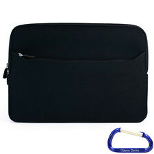 """Black Carrying Sleeve Case Cover for Apple MacBook Pro 13"""" Retina Display"""