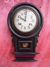 bella, vecchio orologio pendolo__Legno vetro_