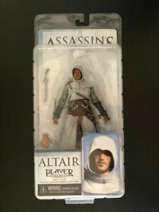 Official Assassin's Creed Altair NECA Player Select Figure BOXED NEW RARE 2007