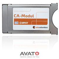 Telecolumbus Cam CI+ HD+ CA Modul @smit für NDS Verschlüsselung TV RECEIVER CI
