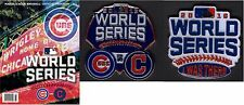 """2016 WORLD SERIES CHICAGO CUBS PROGRAM + DUELING TEAM & """"I WAS THERE"""" LAPEL PIN"""