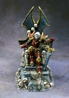 Reaper Miniatures - 03807 - Dragoth the Defiler, Undead Lord on Throne - DHL