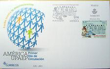 SOBRE 1º DIA CIRCULACION   LUCHA CONTRA LA DISCRIMINACION  MADRID 2013