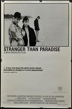 stranger than paradise movie poster