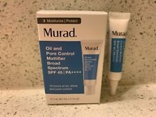 MURAD OIL AND PORE CONTROL MATTIFIER SPF 45 DELUXE SAMPLE 0.17 oz. / 5 mL BNIB