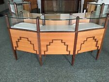 3 Custom Built Artdeco Style Locking Display Cases For Watches Amp Jewelry