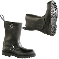 Diora HAWK Waterproof Leather Cowhide Motorbike Motorcycle Cruiser Boots Black