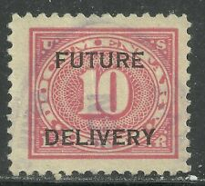 U.S. Revenue Future Delivery stamp scott rc4 - 10 cent issue of 1933 - used