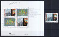 Portugal 1993 postfrisch MiNr. 1959 und Block 93   Zeitgenössische Kunst