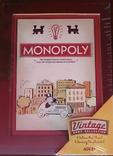 Monopoly - Parker Brothers Wooden Box Vintage Game Collection - SEALED