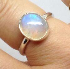 Moonstone Solitaire Fine Gemstone Rings
