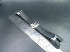 New Old Stock Pirelli 23mm Rubber Watch Band (Black Color) For Boy Size