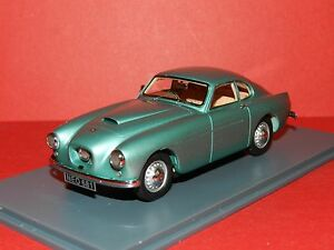 Neo Scale Models 1/43 Bristol 404 Light Metallic Green MiB
