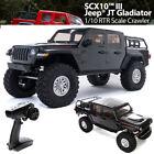 Axial AXI03006T1 1/10 SCX10 III Jeep JT Gladiator Rock Crawler w/Portals RTR Gry